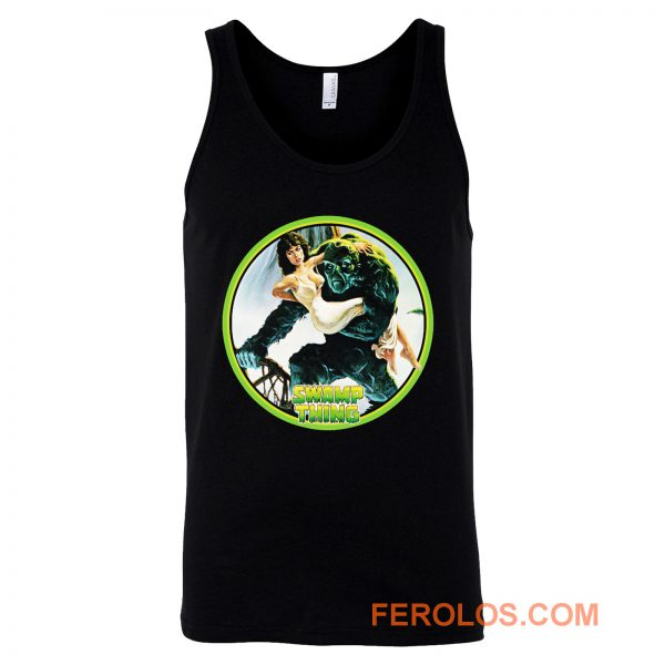 80s Wes Craven Classic Swamp Thing Tank Top