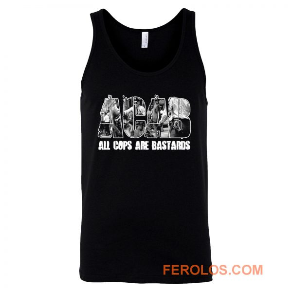 ACAB All Cops Are Bastards Tank Top