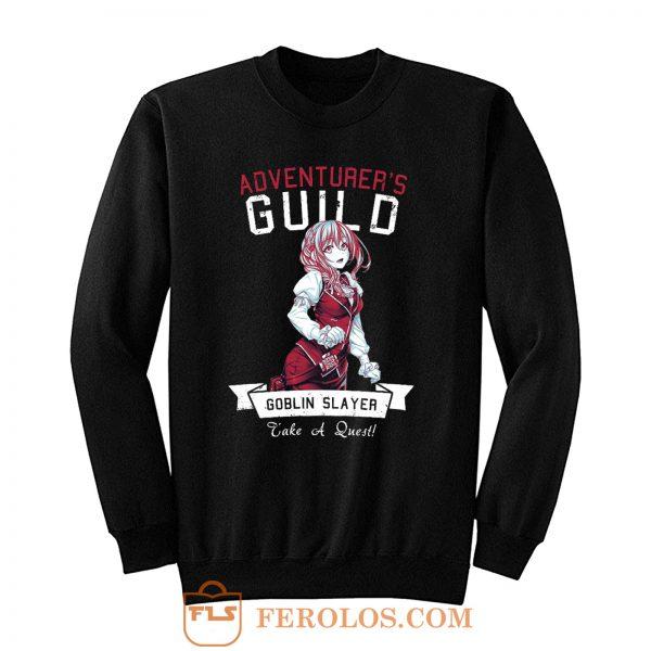 Adventurers Guild Girl Goblin Slayer Sweatshirt