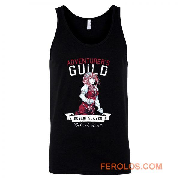 Adventurers Guild Girl Goblin Slayer Tank Top