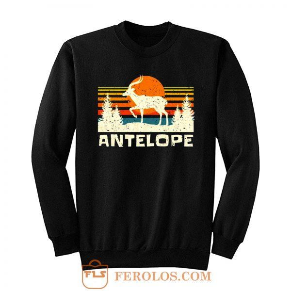 African Antelope Retro Wildlife Lover Sweatshirt