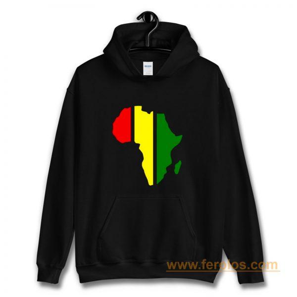African Rasta Rastafarian or Reggae Hoodie
