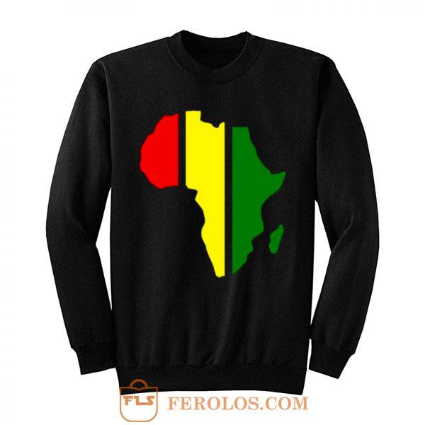 African Rasta Rastafarian or Reggae Sweatshirt