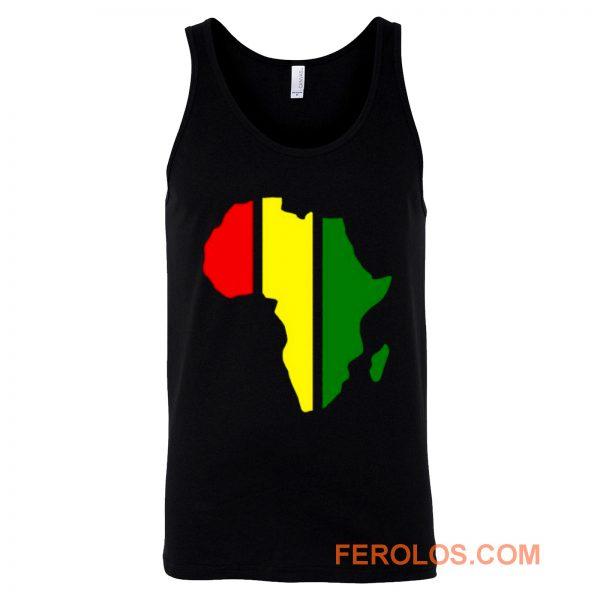 African Rasta Rastafarian or Reggae Tank Top
