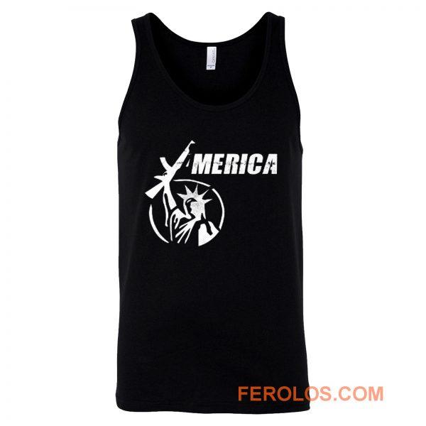 America Liberty Have AR15 Gun Tank Top