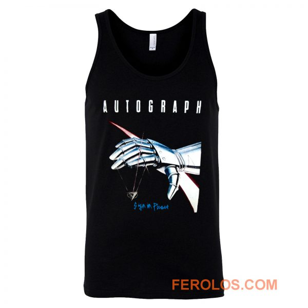 Autograph Sign In Please Tank Top