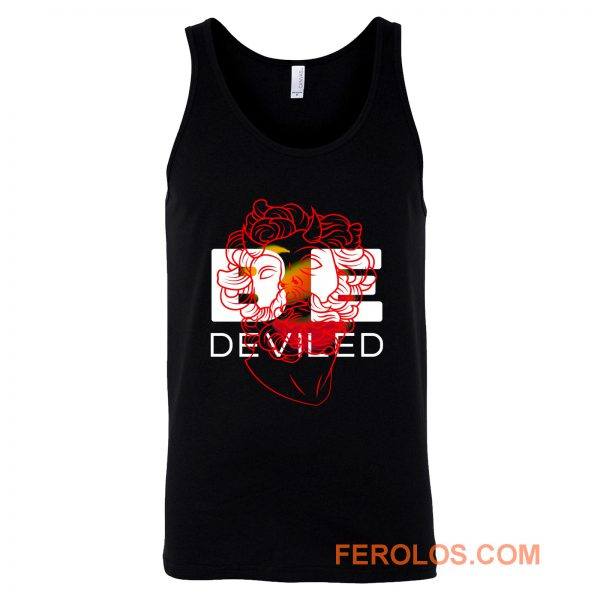 BE DEVILED Featuring Greek Sculpture Tank Top