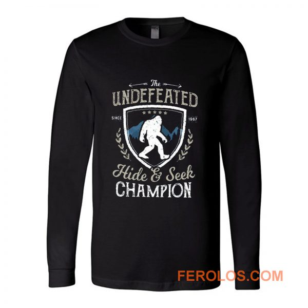 Bigfoot Undefeated Long Sleeve