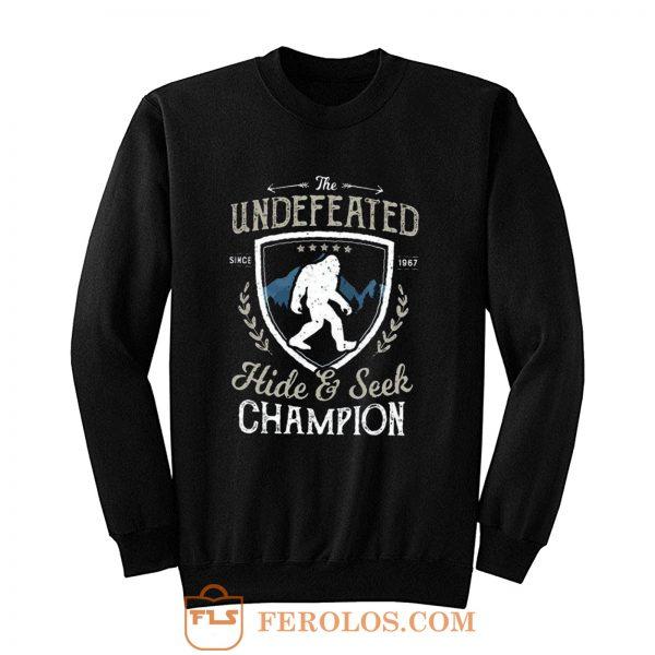 Bigfoot Undefeated Sweatshirt