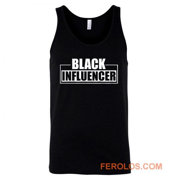 Black Influencer BLM Pride Tank Top