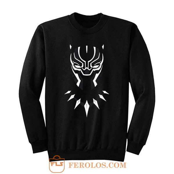 Black Panther Wakanda Mask Sweatshirt