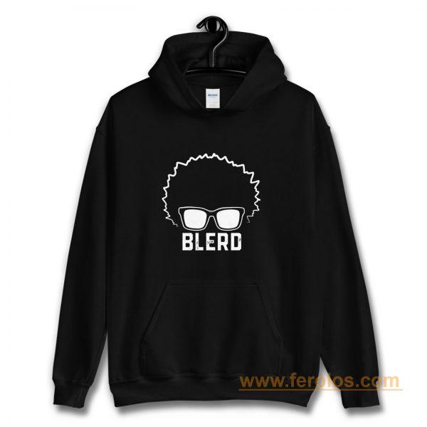 Blerd Black Nerd Hoodie