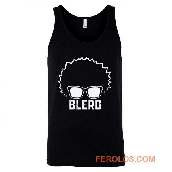 Blerd Black Nerd Tank Top