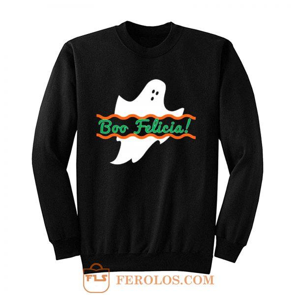 Boo Felicia Halloween Sweatshirt