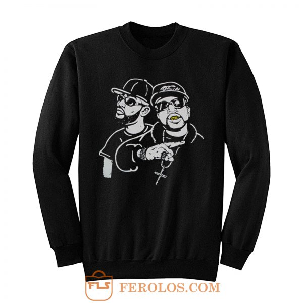 Bun B Feat Pimp C Sweatshirt