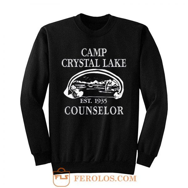 Camp Crystal Lake Counselor Sweatshirt