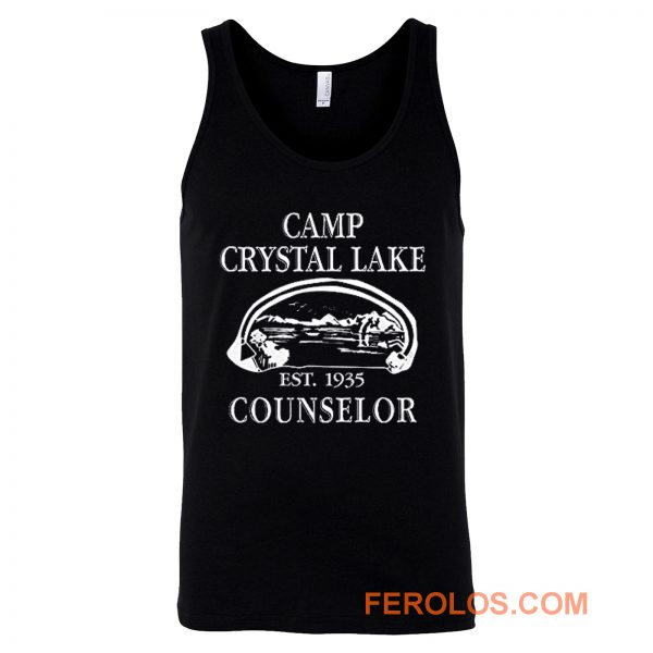 Camp Crystal Lake Counselor Tank Top