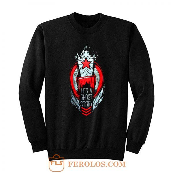 Captain America Winter Soldier Sweatshirt