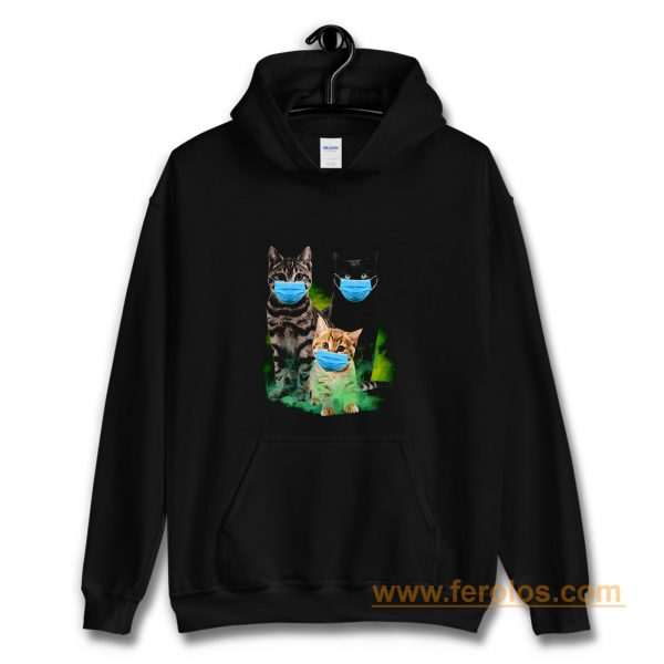 Cats with Face Mask 2020 Hoodie