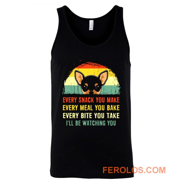 Chihuahua Quote Vintage Dog Tank Top