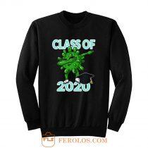 Class Of 2020 Dabbing Pandemic Graduation Quarantine Sweatshirt