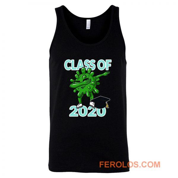 Class Of 2020 Dabbing Pandemic Graduation Quarantine Tank Top