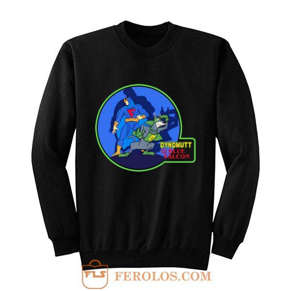 Classic Dynomutt Blue Falcon Sweatshirt