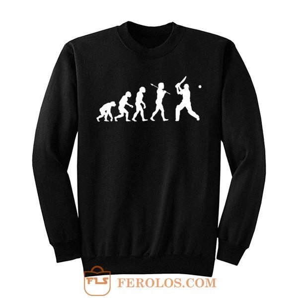Cricket Evo Evolution Funny Sweatshirt