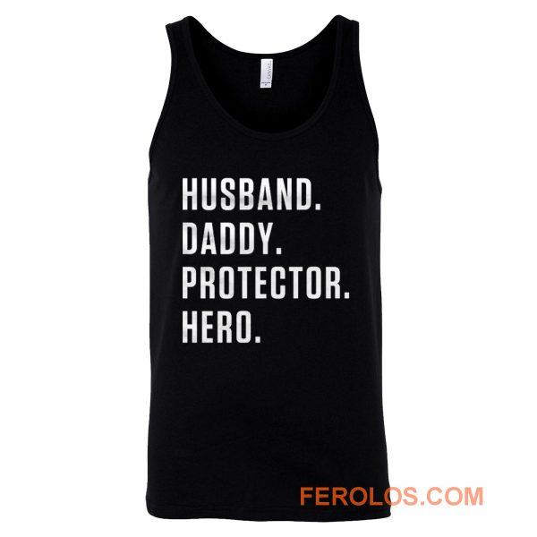 Dad Hero Husband Tank Top
