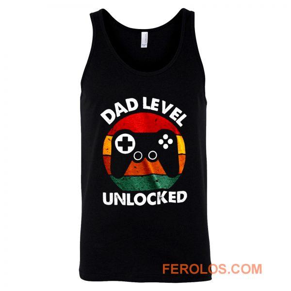 Dad Level Unlocked Tank Top