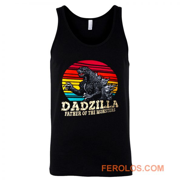 Dadzilla Father Of The Monsters 1 Tank Top