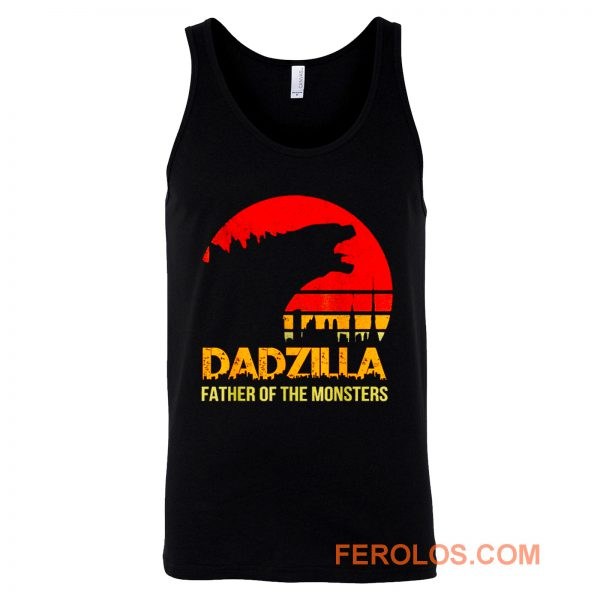 Dadzilla Father Of The Monsters Tank Top