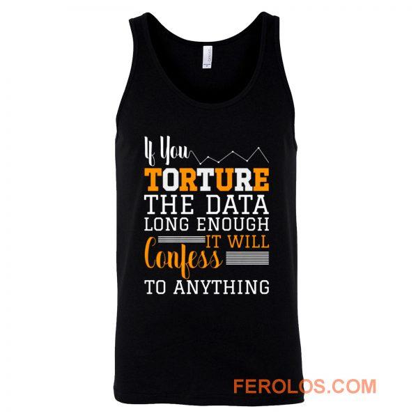 Data Science Data Nerd Financial Analyst Tank Top