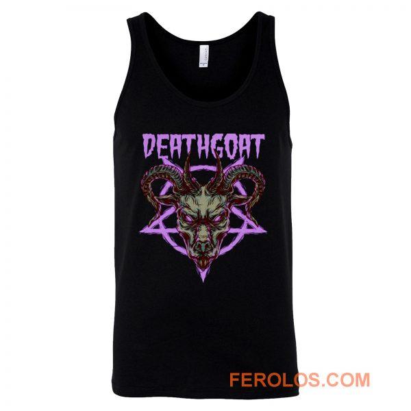 Death Goat Death Metal Band Tank Top