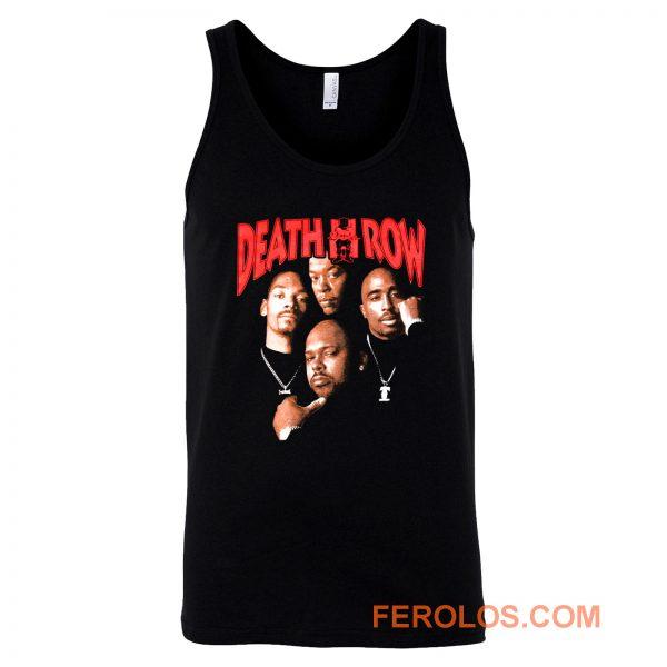 Death Row Records Tupac Dre Retro Tank Top