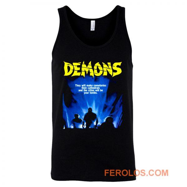 Demons Movie Demoni Italian Vintage Classic Horror Tank Top