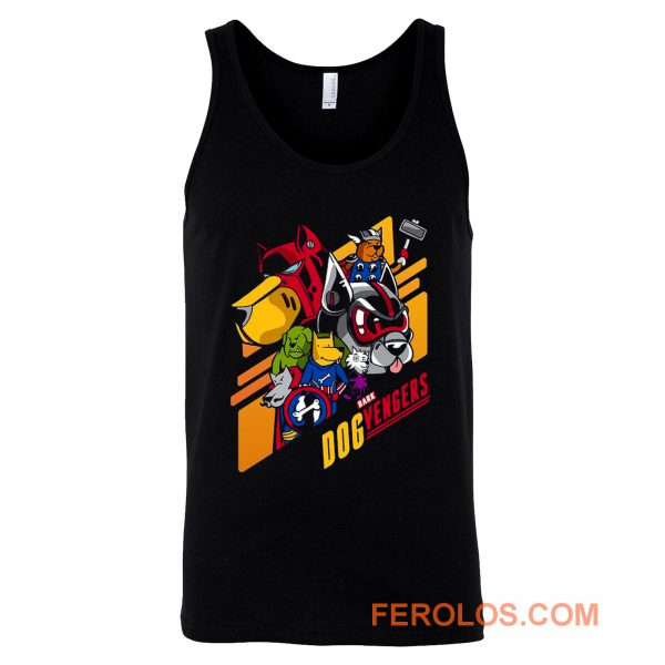 Dog Vengers Funny Dog Lovers Tank Top