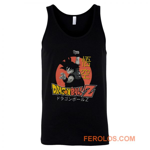 Dragon Ball Z Goku Tank Top