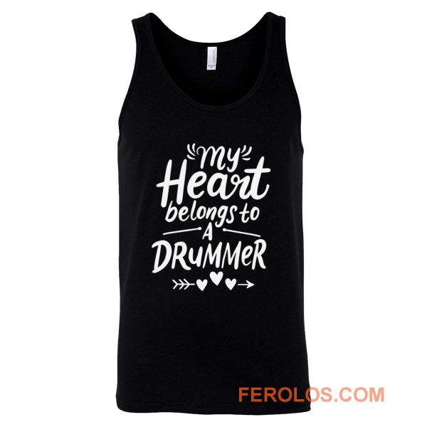 Drummer Girlfriend Tank Top
