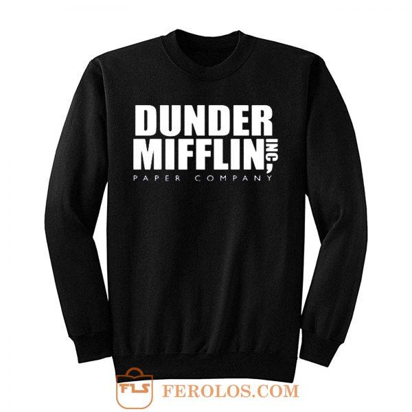 Dunder Mifflin Paper Inc Officetv Show Sweatshirt