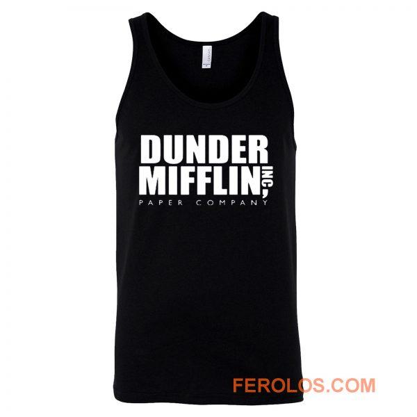 Dunder Mifflin Paper Inc Officetv Show Tank Top