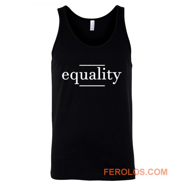 Equality Black Resistance History Tank Top