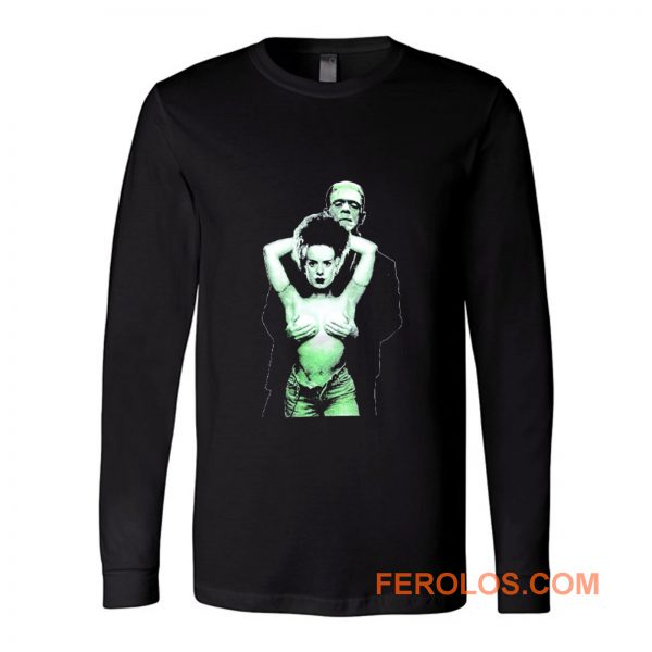 FRANKENSTEIN Bride Horror Monster Long Sleeve