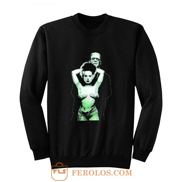 FRANKENSTEIN Bride Horror Monster Sweatshirt