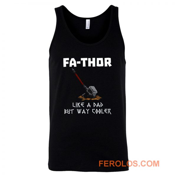 Fa Thor Viking Fathers Day Tank Top