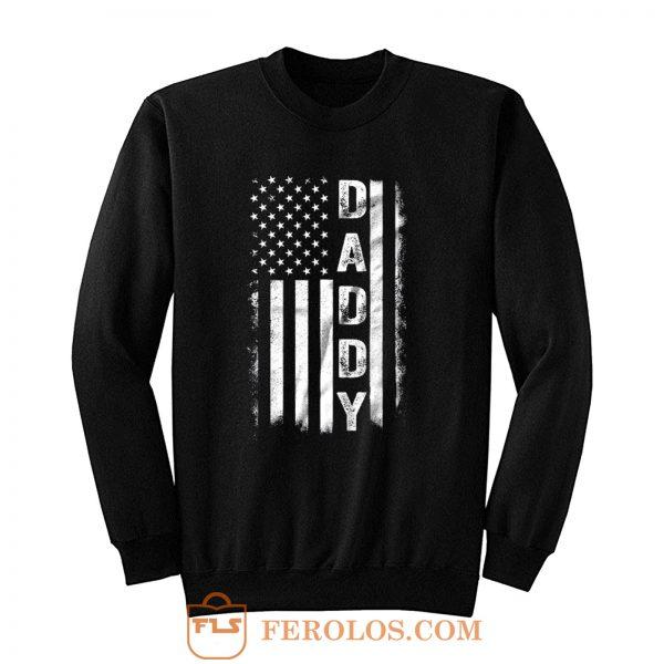 Father Day American Flag Sweatshirt