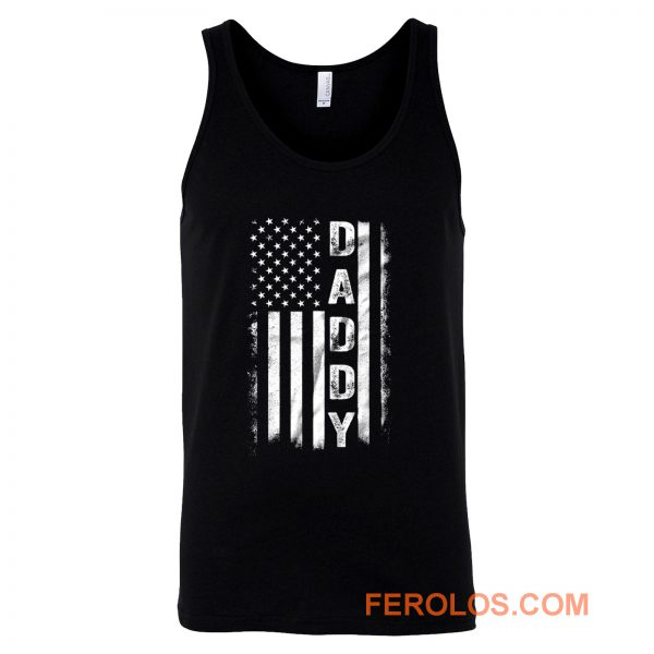 Father Day American Flag Tank Top
