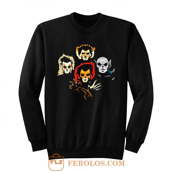 Feline Rhapsody Queen Band Parody Sweatshirt