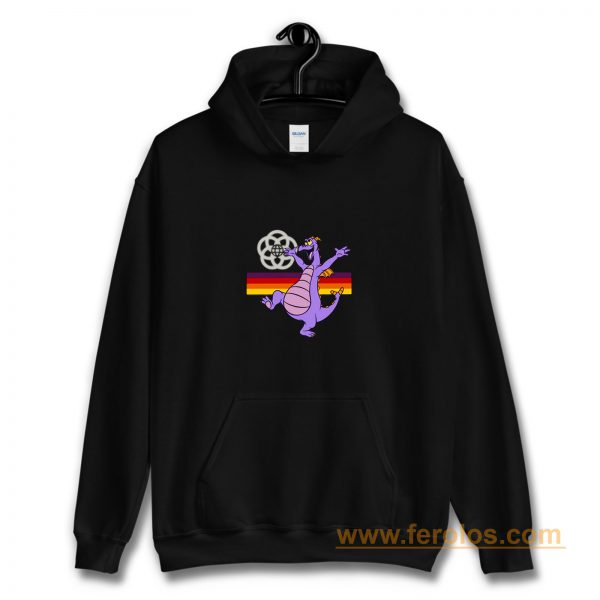 Figment at Epcot Black Hoodie