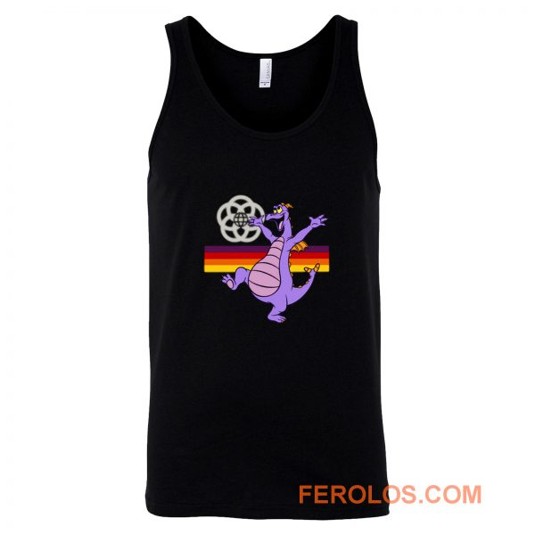 Figment at Epcot Black Tank Top